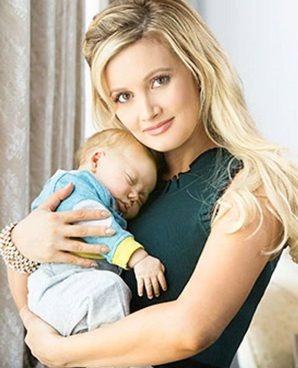 Holly Madison in No Rush to Lose Baby Weight: I Don't Feel the Pressure'