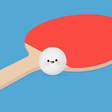 Ping Pong Ball Illustration