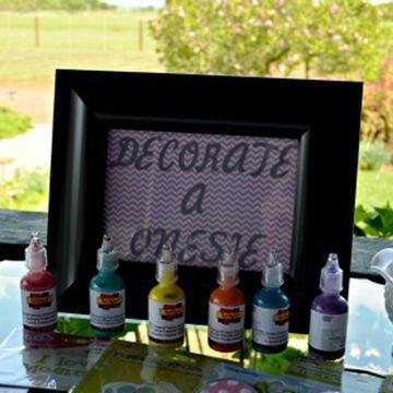 Onesie Decoration Station Baby Shower Game