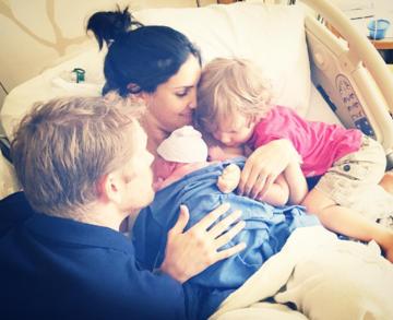 daniela ruah hospital family photo