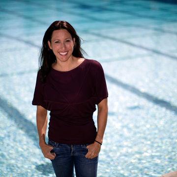 Olympic Gold Medalist Swimmer Janet Evans