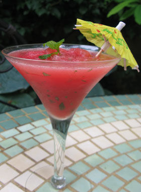 mocktail-frozen-watermelon-mojito