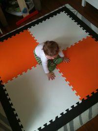 tucker on new orange mat.jpg