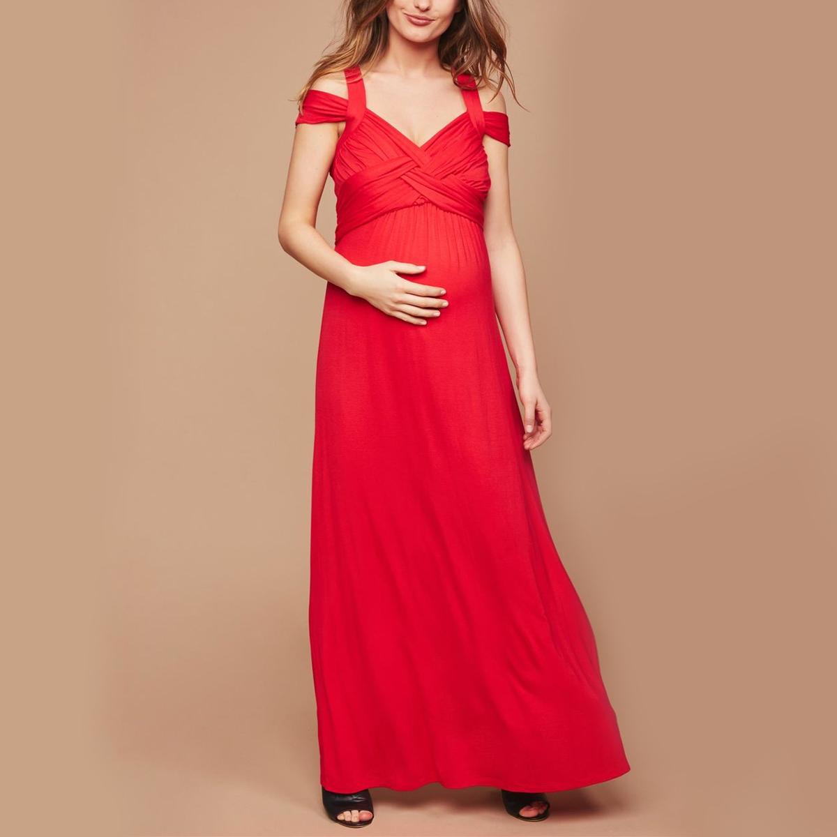 8 Bump-Friendly Maternity Dresses for Wedding Season | Fit Pregnancy ...