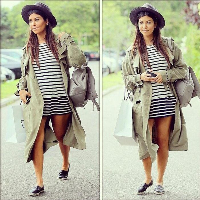 Kourtney Kardashian Shares Her Pregnancy Style Fit Pregnancy And Baby