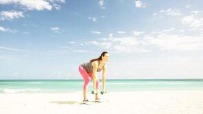 Pregnancy Workout: Stiff-Leg Dead Lift