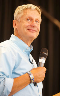 Presidential Candidate Gary Johnson