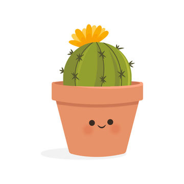 Mini Cactus Illustration