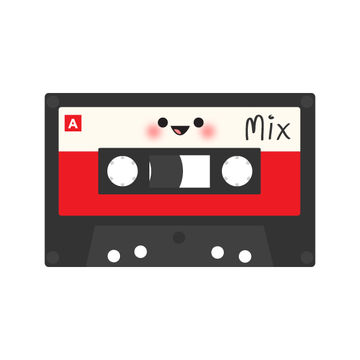 Mixed Tape Illustration