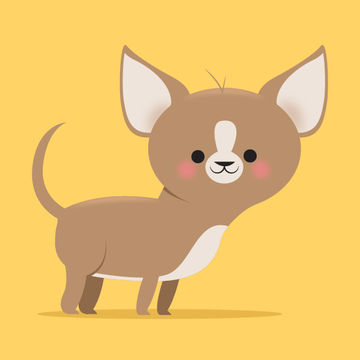 Small Chihuahua Illustration