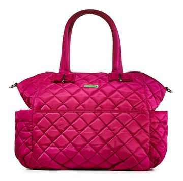 Softly Quilted Diaper Bag
