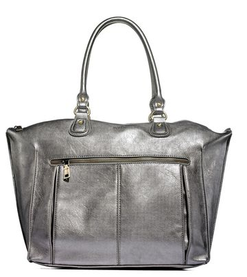 Metallic Glow Diaper Bag