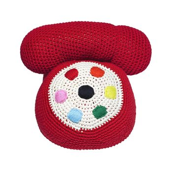 Toys of the Year Crocheted Telephone