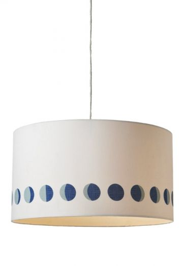 The Moon Phases Drum Pendant Light