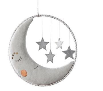 Dream Ring Moon And Stars Mobile