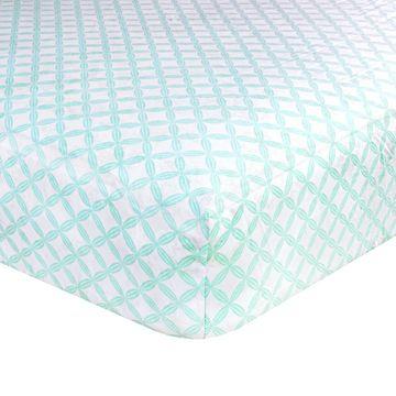 Just Born's Classic Collection Hampton Crib Sheet
