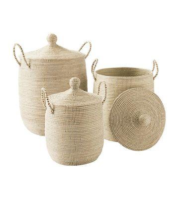 Cactus Nursery Solid La Jolla Baskets