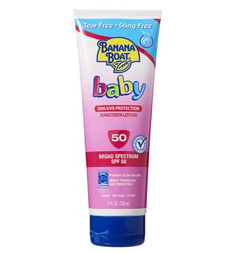 Banana Boat's Tear-Free Sunscreen