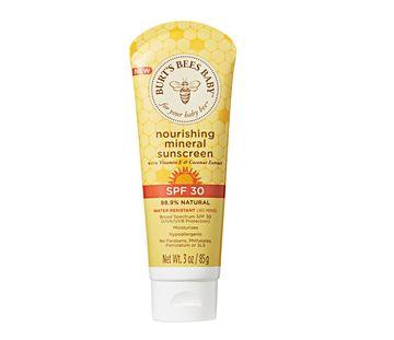 Burt's Bees Nourishing Mineral Sunscreen