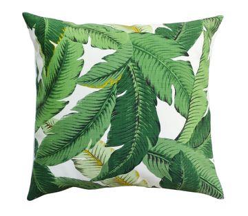 Tropical Nursery Banana Palm Pillow