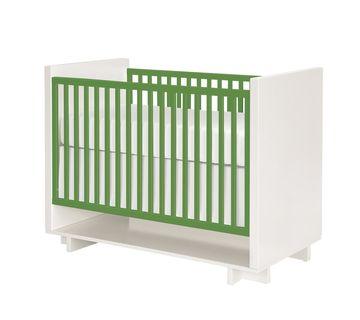 Tropical Nursery Room and Board Moda Crib Green