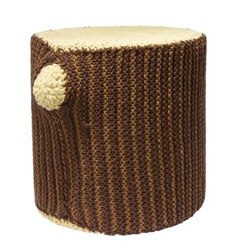 Woods Nursery Crochet Stumped Stool
