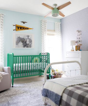 Colorful Crib Trend Joni Lay Nursery