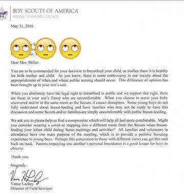 Boy Scout Letter