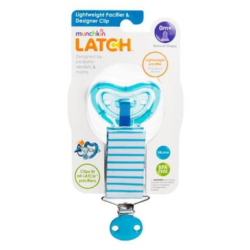 Munchkin Latch Lightweight Pacifiers & Clips