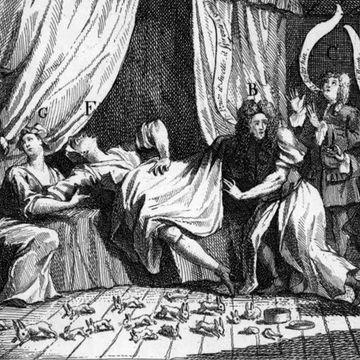 Birth in the 1700s