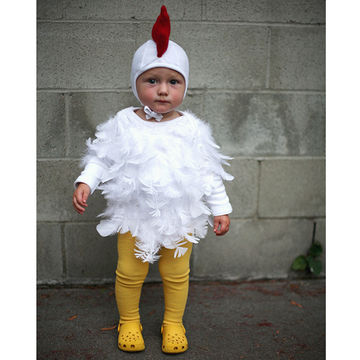 5 super easy diy halloween baby costumes make one tonight fit baby chick solutioingenieria Choice Image
