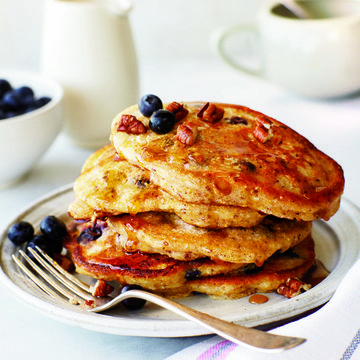 Healthy breakfast recipes that benefit your baby fit pregnancy and vegan blueberry pancakes forumfinder Image collections