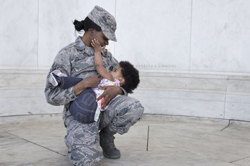 Military Moms Breastfeeding