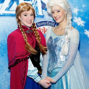 Disney's Frozen: Princess Anna, Queen Elsa