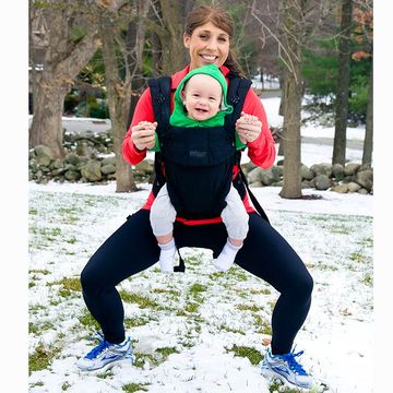 Real-Mom Weightloss Secret - use baby to strength-train