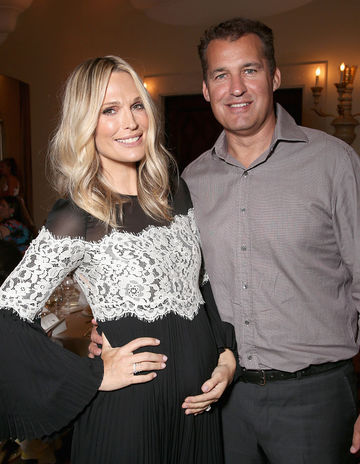 Molly Sims Expecting Third Baby With Husband Scott Stuber