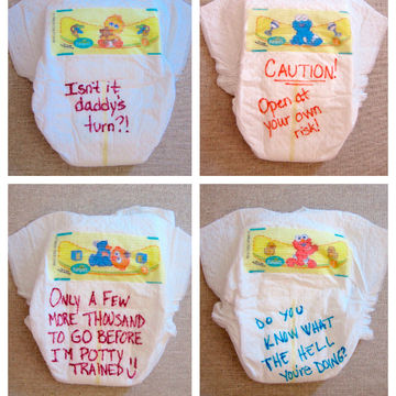 Late-Night Diaper Notes Baby Shower Game