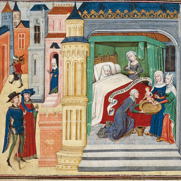 Birth in the Middle Ages