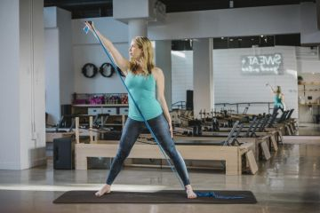 Labor Ready Pilates Workout: Sword Move