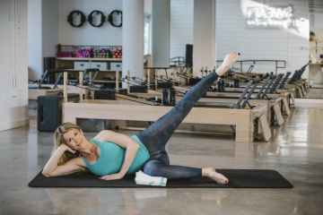 Labor-Ready Pilates Workout: Leg Lift