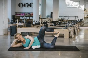 Labor-Ready Pilates Workout: Clamshell