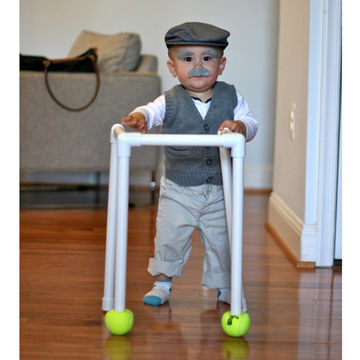 Baby Old Man  sc 1 st  Fit Pregnancy & 5 Super-Easy DIY Halloween Baby Costumes (Make One Tonight!) | Fit ...