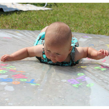 Outdoor Baby Waterbed - Outdoor Activity with Baby