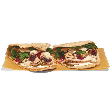 Panera Roasted Turkey Cranberry Flatbread