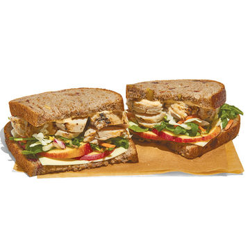 Panera Roasted Turkey, Apple and Cheddar Sandwich