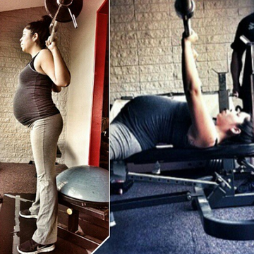Davina Nova Weightlifting in Pregnancy