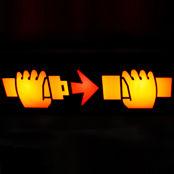 seatbelt sign on airplane
