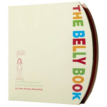 7 Cute Pregnancy Keepsake Books & Journals - the belly book