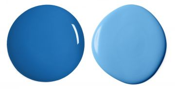 Benjamin Moore Brilliant Blue And Bayberry Blue