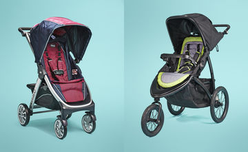 Best Awards Chicco Bravo Stroller and Graco RoadMaster Jogger